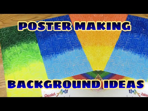 poster making background ideas