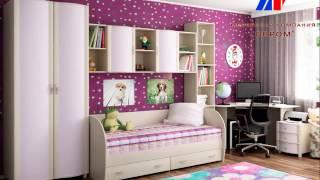 видео Лером детская мебель. Каталог, цены и фото мебели для детской комнаты фабрики Лером мебель. Официальный сайт магазин в Москве.