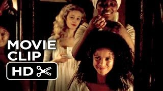 belle movie clip hair combing 2014 gugu mbatha raw movie hd