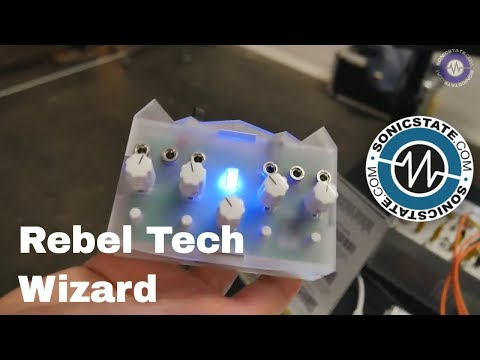 Rebel Technology Wizard Standalone PureData Module