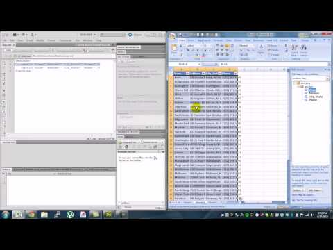 Excel Basics - Video Tutorial How To Create An XML Document