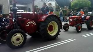 Oldtimer tractoren Koningsdag 2017 te Ommen