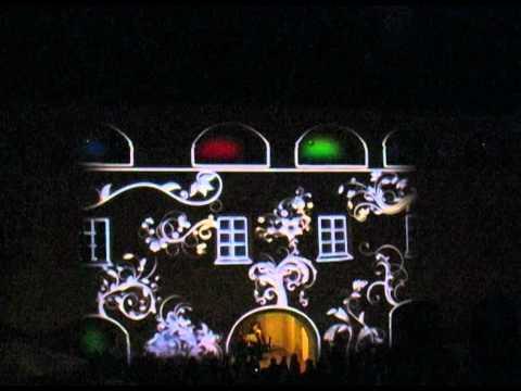 Video projection mapping Murska Sobota