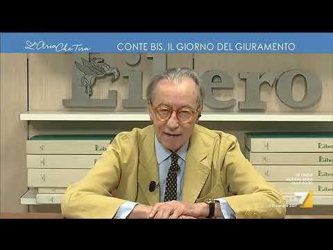 Vittorio Feltri: 'Governo raccapricciante, Di Maio più che agli Esteri lo avrei mandato all'estero'