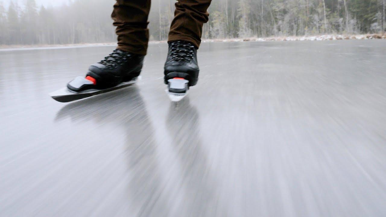 Незаборавно искуство: Како изгледа лизгањето на замрзнато езеро во нордиските земји?