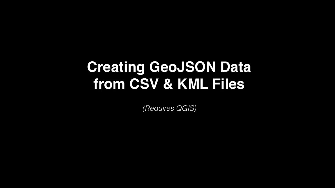 How to Geocode and Convert a CSV File to GeoJSON (in Minutes!)