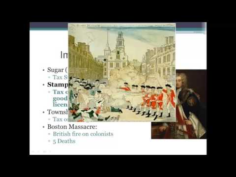 Colonial America: 1763 - Revolutionary War