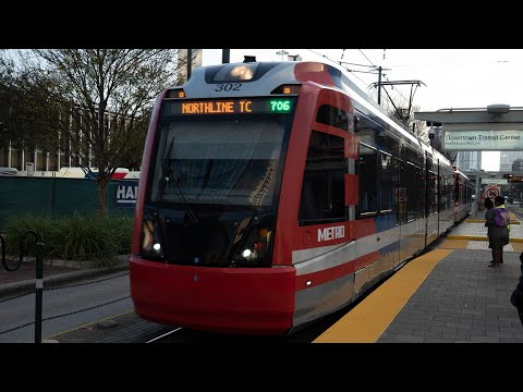 Houston METRORail Red Line - Downtown Transit Center To Burnett Transit Center/Casa De Amigos
