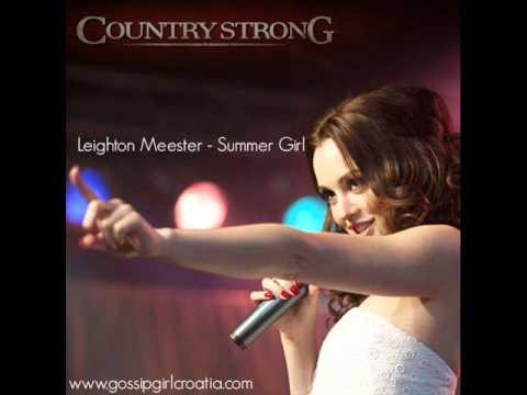 Leighton Meester - Summer Girl