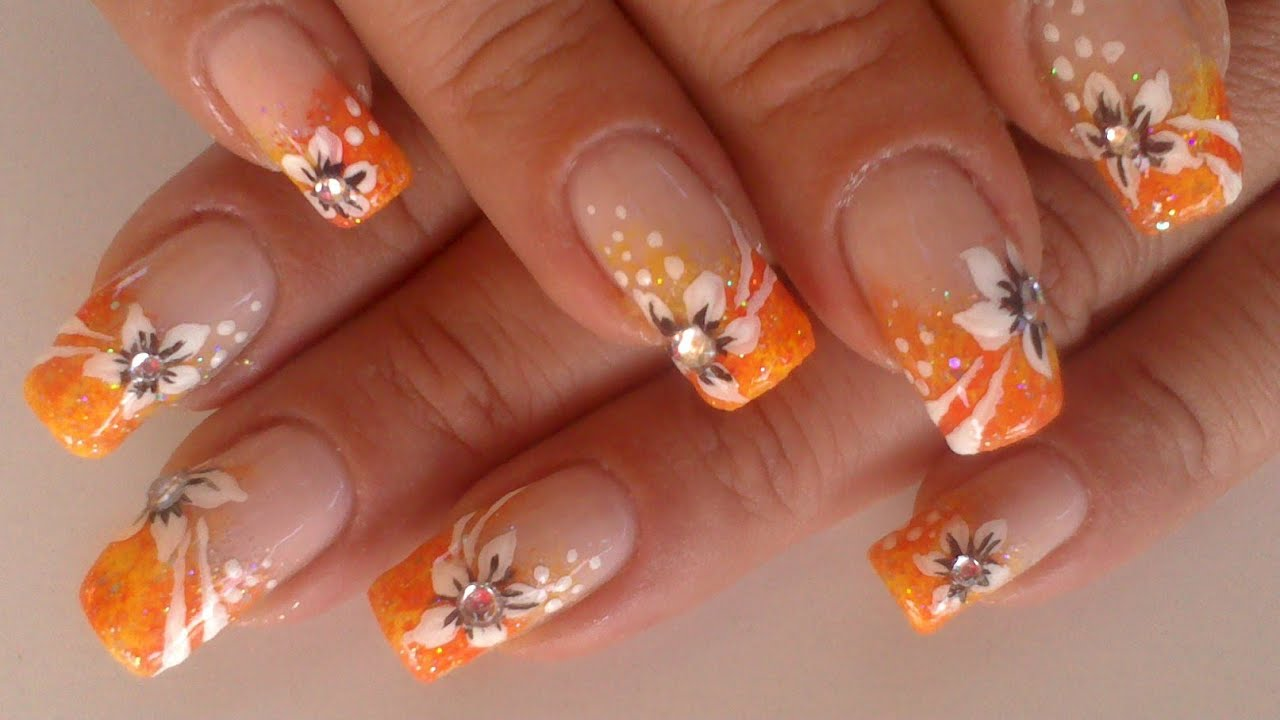 Scents Of Summer Flowers Nailart Collaboration With Angelonero29