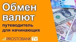 Обмен валют: курс доллара, евро, рубля на сегодня в Украине