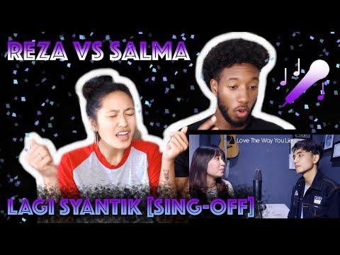 SITI BADRIAH - LAGI SYANTIK (SING-OFF) REZA DARMAWANGSA VS SALMA | REACTION