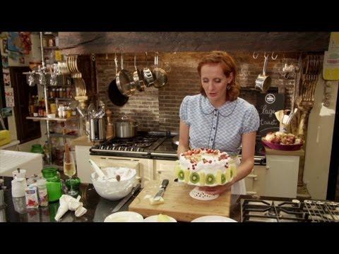 Zelf een taart maken en versieren deel 1 banketbakke doovi - Tweekleurige keuken ...