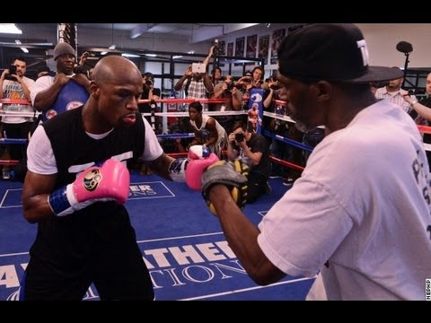 Floyd Mayweather Complete Mitt Workout UNEDITED