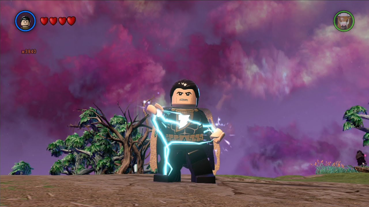 LEGO Batman 3: Beyond Gotham - Black Adam Free Roam ...
