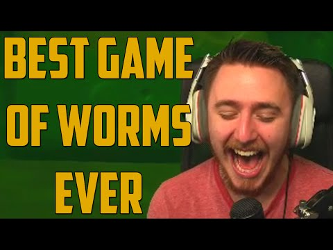 BEST GAME OF WORMS EVER (Worms: Revolution)