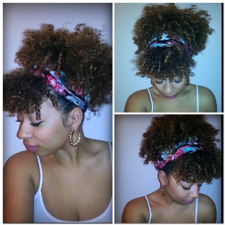 Easy Scarf Tutorials For Natural Hair