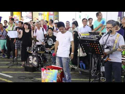 To love somebody + How can I tell her + Massachusetts -- Ah Lam & Sunny -- 3L樂隊160807 CN