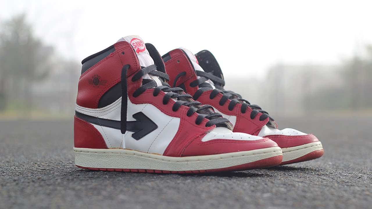 brand new afe45 9641c The Story of the 1985 Sang (Air Jordan 1 Knock Off)