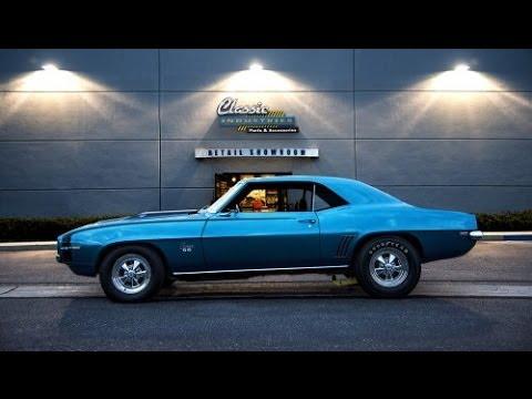 Classic Industries 1969 Dick Harrell Camaro Tribute - YouTube