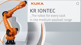 KR IONTEC industrial robotic arm: highest output with a low total cost of ownership