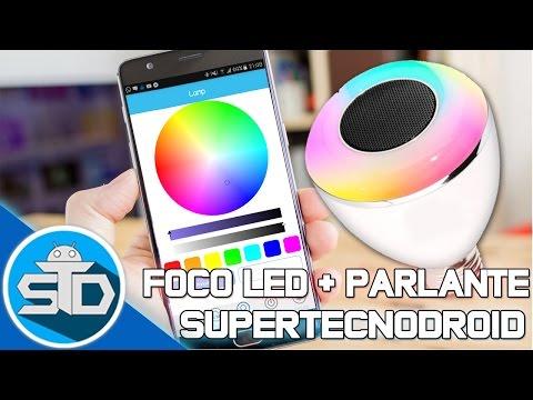 Unboxing & Review del Foco Inteligente Led Con Parlante Compatible con iOS & Android