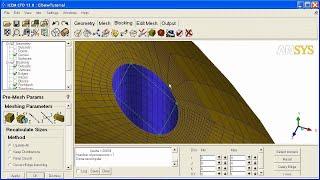 ANSYS ICEM CFD HEXA 3D Elbow Tutorial