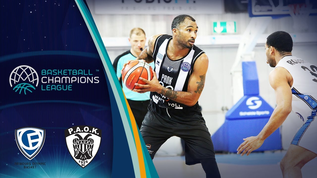 88c3d121a5 Fribourg Olympic v PAOK boxscore - Basketball Champions League 2018-19 - 30  January - Basketball Champions League 2018-19