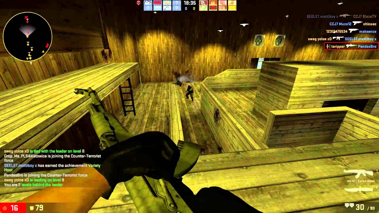 CSGO Gun Game: Sick Shots, Even Sicker Immune System - YouTube