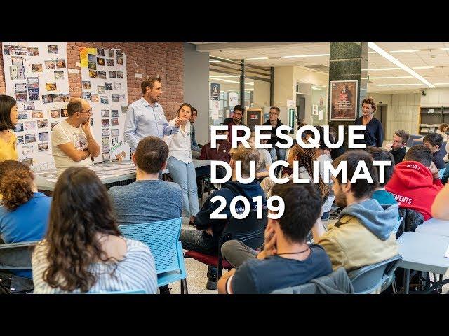 Fresque du climat : créative, ludique, collective