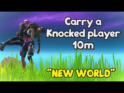 Fortnite Chapter 2 - Carry a Knocked player 10m - Season 1 New World Challenges