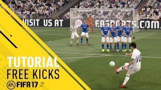 Как правильно исполнить свободный удар в FIFA 17