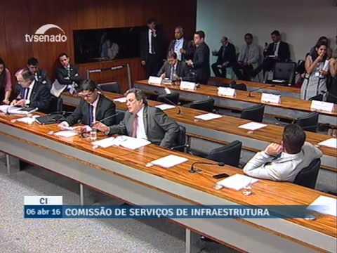 CI - Comissão De Infraestrutura - 06/04/2016