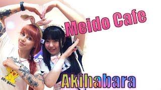 Zwiedzamy Akihabarę - Meido Cafe