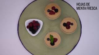 Delicioso, receta rápida: Sopa de chocolate blanco y caramelo con frutos rojos - Yo Dona