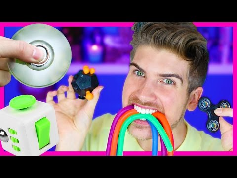Thumbnail: PLAYING WITH FIDGET TOYS!