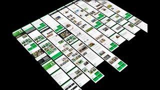 uKit AI prototype: website redesign fully automated
