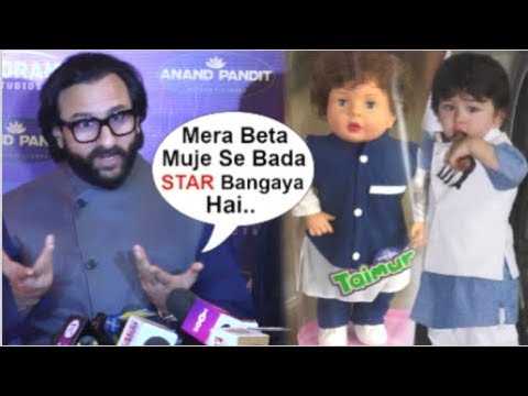 Saif Ali Khan's BEST Reaction On Taimur Ali Khan's DOLL Made By Fans