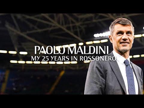 UEFA Special   Paolo Maldini: My 25 years in Rossonero
