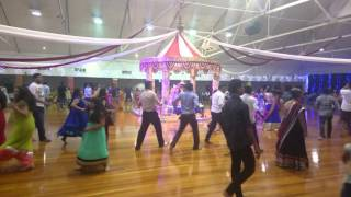 Auckland Gandhi hall garba 2015 day 1
