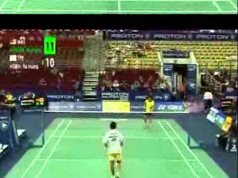 proton malaysia open 2010 day 2 yu hsing hsieh vs ...