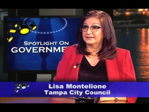 Spotlight on Government: Lisa Montelione, Tampa City Council