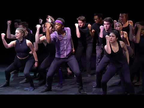 Cool (WEST SIDE STORY) - University of Michigan - Dance Workshop - Commodore Primous