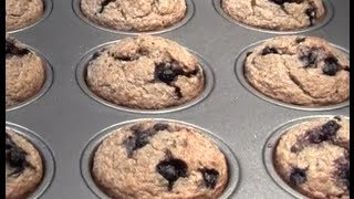 Blueberry Banana Oat Muffin Recipe