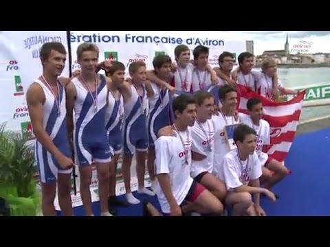 Championnat de France 2014 Aviron Minimes Mâcon - rediffusion de Dailymotion