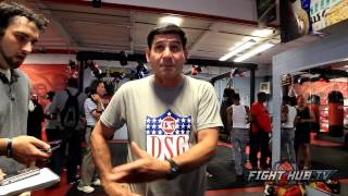 Angel Garcia on a potential Mayweather vs Berto fight