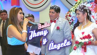 A Flor De Cumbia BODA JHONY Y ANGELA - CEREMONIA Y VALS NUPCIAL