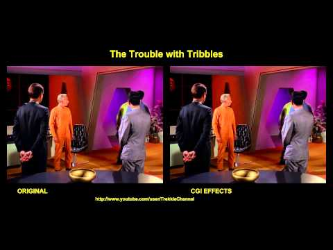 Thumbnail: Star Trek - The Trouble With Tribbles - visual effects comparison