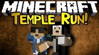 Minecraft: Mini Game: Temple Run! w/ GabbyGoesHa!