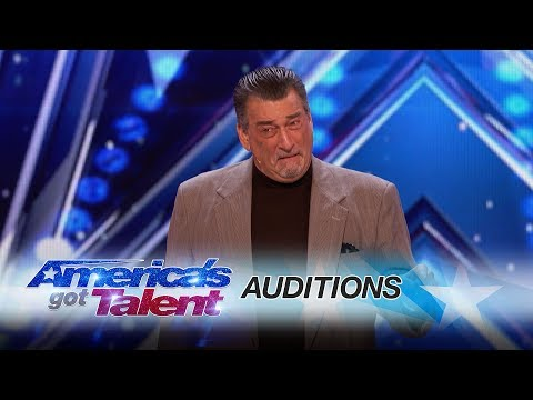 DeNiro Guy: Celebrity Impersonator Brings His Talents To AGT - America's Got Talent 2017
